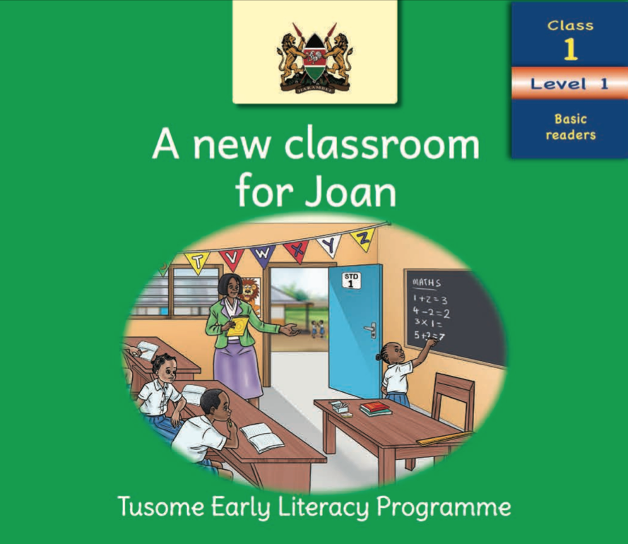 A new classroom for Joan